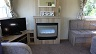 "32"" flatscreen freeview TV & DVD & Modern Electric Fire"