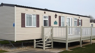 Gold 3 Bedroom Caravan for 2014